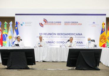Ministros de Hacienda y Economía de Iberoamérica abogan por mayor financiamiento para recuperación económica
