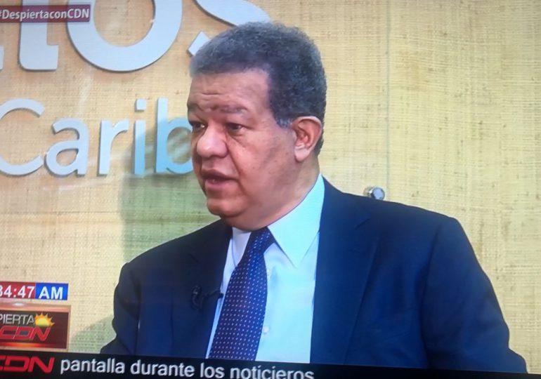 Leonel dice anterior Gobierno no hizo Reforma Fiscal por estar en travesura de Reforma Constitucional