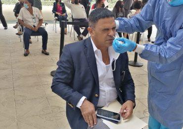 VIDEO | Empleados y legisladores se realizan pruebas PCR en el Congreso Nacional
