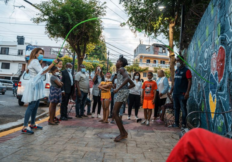 Alcaldía DN remoza Parque Los Praditos y lo habilita como punto de vacunación