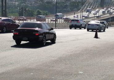 VIDEO | MOPC inicia intervención de dos carriles del puente Juan Bosch