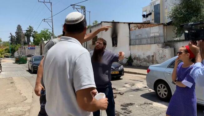 La cohabitación árabe-israelí se hace añicos en Lod