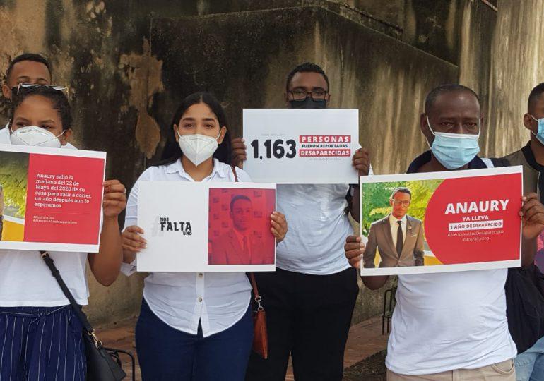 VIDEO | Protestan en reclamo de que autoridades reactiven búsqueda del joven Anaury Castillo