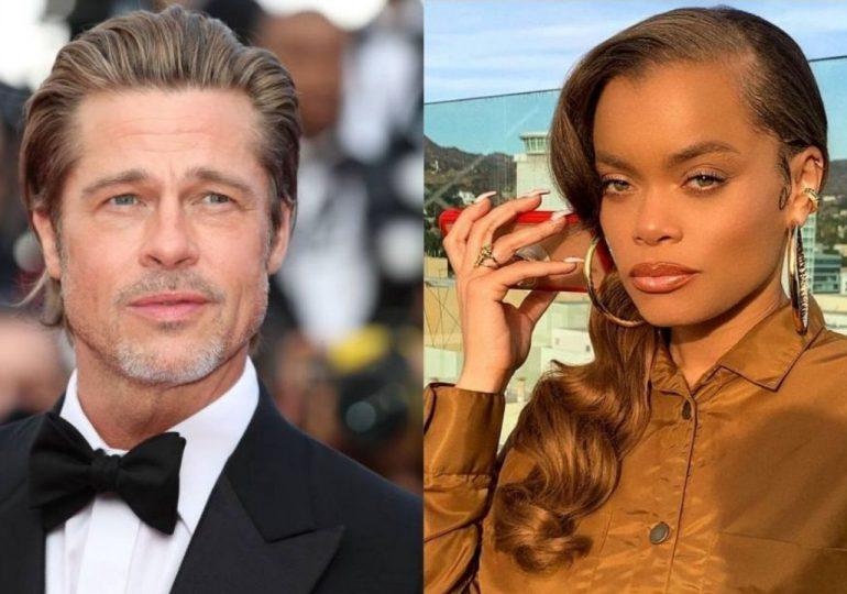 Crecen los rumores de romance entre Brad Pitt y la cantante Andra Day