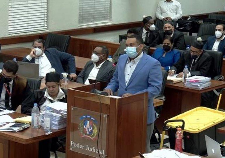MP pide prisión domiciliaria para Alejandro Girón Jiménez