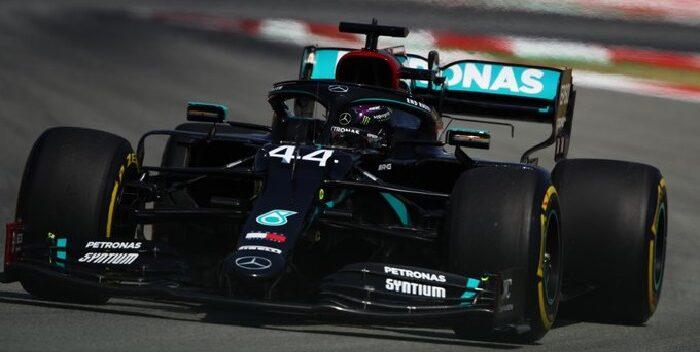 Hamilton domina los segundos libres del GP de España