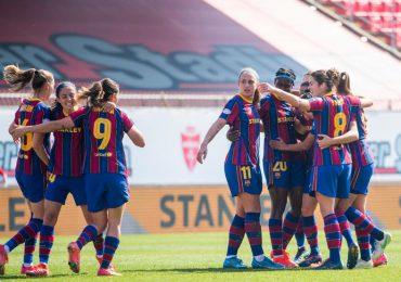 FC Barcelona pasa a final de 'Champions' femenina con victoria sobre París SG