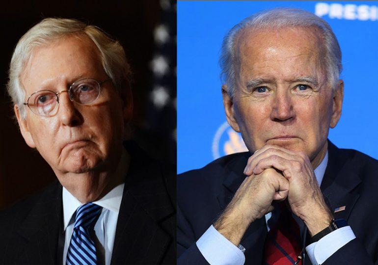 """No hay dudas sobre la """"legitimidad"""" de Biden, dice un líder republicano"""