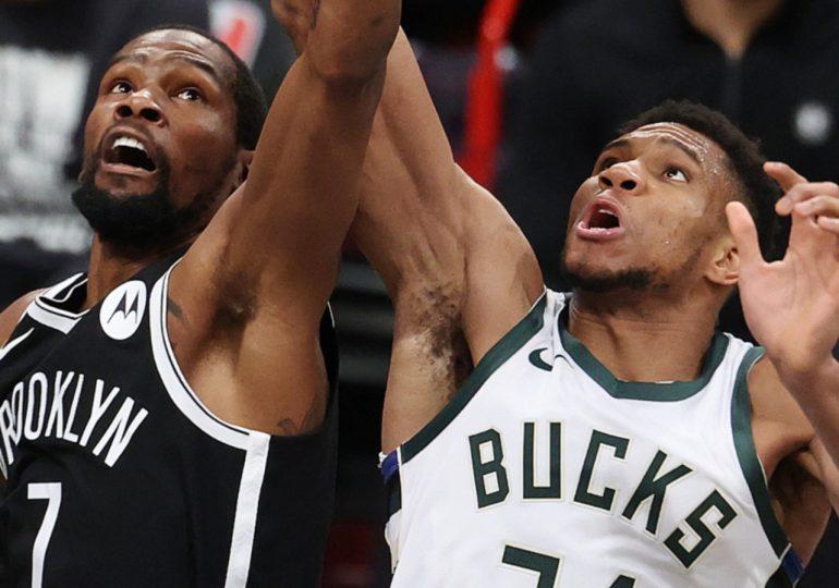 Los Bucks baten a los Nets con un Antetokounmpo estelar