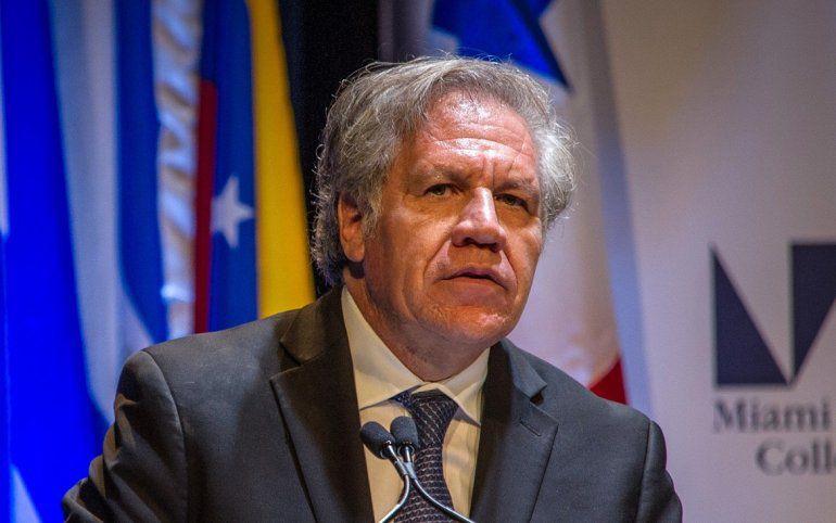 """Almagro dice que reforma electoral en Nicaragua aleja posibilidad de """"proceso transparente"""""""