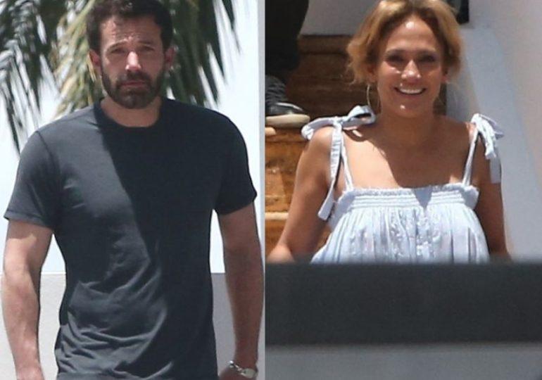 Jennifer López reaparece junto a Ben Affleck en Miami