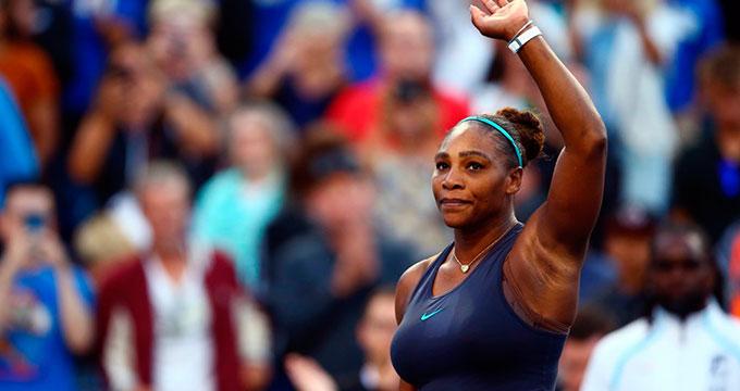 Serena Williams abre las sesiones nocturnas, Federer vuelve a Roland Garros