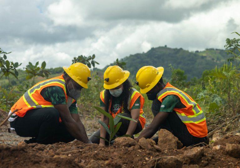 GB Energy Texaco realiza jornada de reforestación en Cerro Maimón