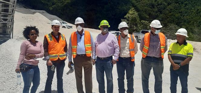 Ministro de Energía y Minas supervisa a la minera Belfond Enterprise