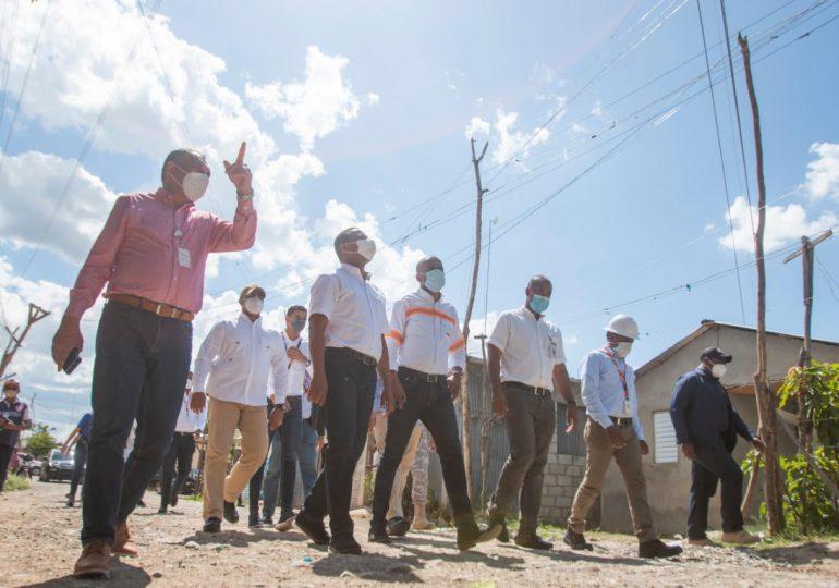 Edesur desarrolla 33 proyectos en San Juan de la Maguana