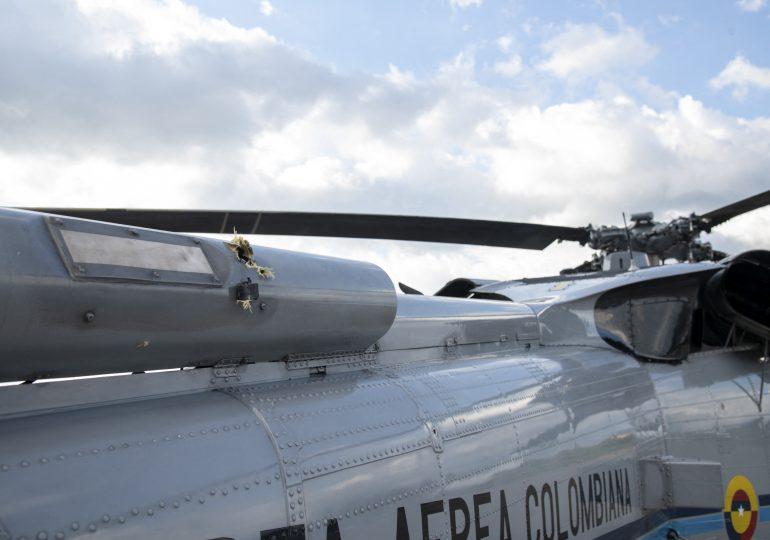 Duque denuncia ataque contra helicóptero en el que viajaba cerca de frontera colombo-venezolana