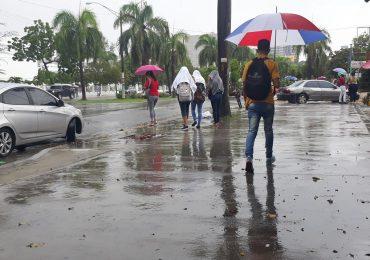 Continuarán aguaceros y provincias en alerta, según Onamet