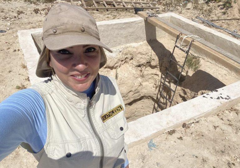 Arqueóloga dominicana Kathleen Martínez casi lista para su nueva aventura