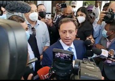VIDEO   Jean Alain Rodríguez llega a la Procuraduría General de la República