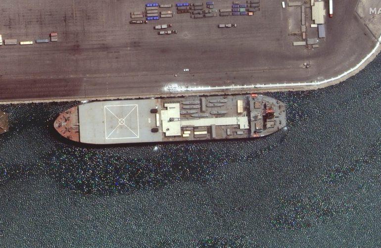 Buques de la Armada Iraní con Venezuela como posible destino preocupan a EE. UU.