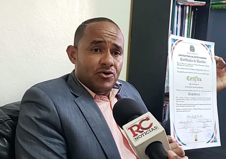 VIDEO | Regidor electo del Distrito Nacional pide al TC falle decisión que lo despojó de regiduría