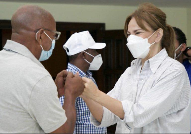 Milagros Germán pide a la población vacunarse contra el coronavirus