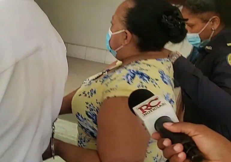 VIDEO | Tres meses de prisión preventiva a madrastra acusada de maltrato niño