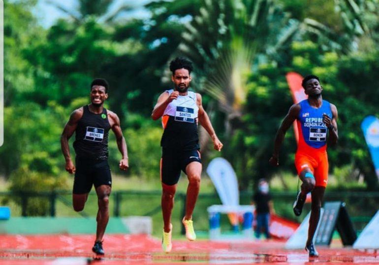 Luguelin Santos Marileidy Paulino ganan oro en Invitacional de atletismo pero no logran boleto a Tokio