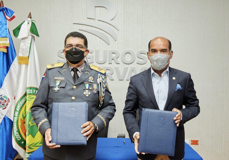 Seguros Reservas dispondrá de pólizas de seguros para la Cooperativa de la Policía Nacional