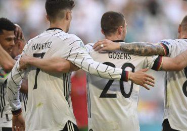 Alemania derrota a Portugal en el mejor partido de la Eurocopa