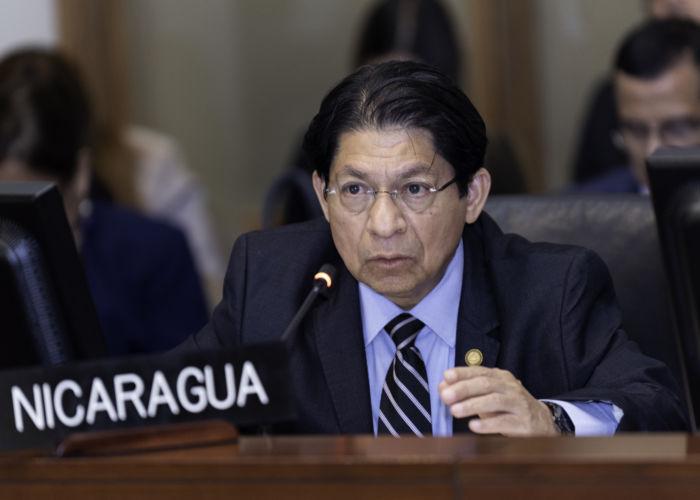 Canciller de Nicaragua rechaza declaraciones de su par dominicano