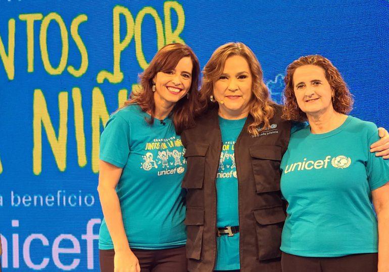 Teletón de UNICEF recauda 3,267,000 para apoyar programas sociales en RD