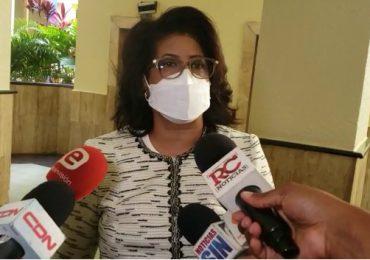 VIDEO | Exsenadora Cristina Lizardo, acude como testigo de Andrés Bautista en caso Odebrecht