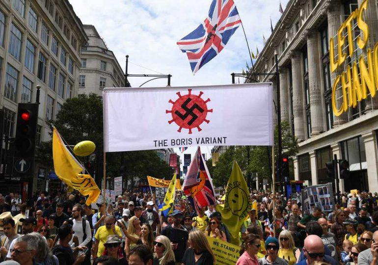 Gobierno británico, podría levantar restricciones anticovid el 19 de julio