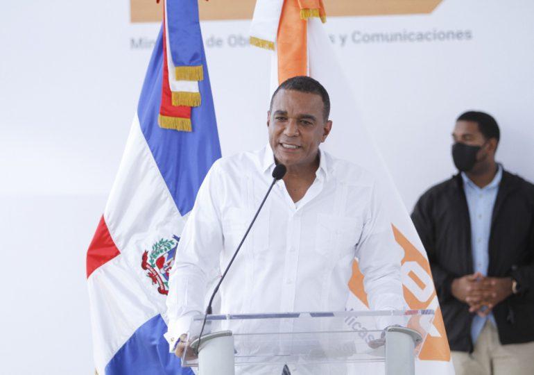 Senador Carlos Gómez afirma se cumple un sueño con la construcción de Circunvalación Moca