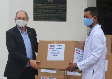 Israel dona insumos médicos contra el Covid -19 al Hospital Infantil Dr. Robert Reid Cabral