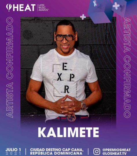Kalimete hará presentación musical de merengue en los Premios Heat