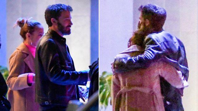 Ben Affleck y Jennifer López hacen su primera aparición pública como pareja