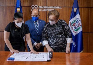 DGII dona inmuebles a la Procuraduría para alojar oficinas de servicio al usuario
