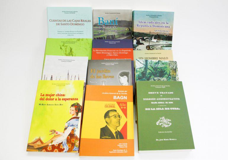 Archivo General de la Nación enriquece acervo con 21 nuevas publicaciones