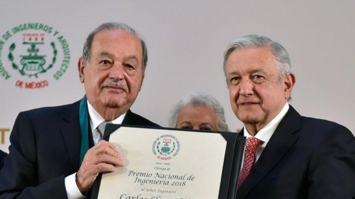 El magnate Carlos Slim pagará la reconstrucción de tramo que colapsó en metro de México