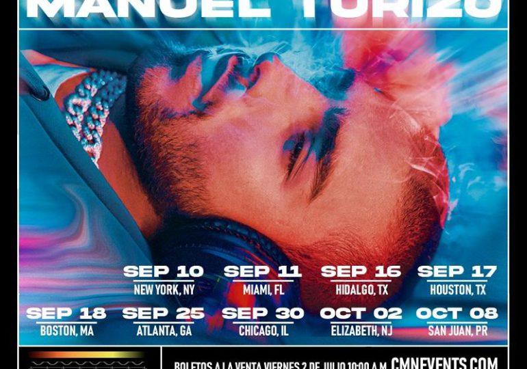 """Manuel Turizo anuncia nueva gira de conciertos en Estados Unidos: """"DOPAMINA TOUR"""""""