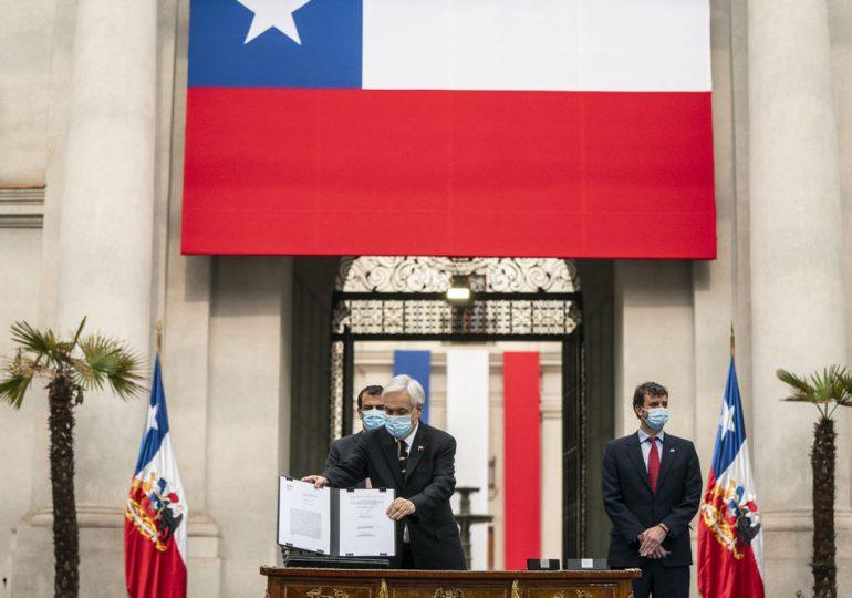 Chile redactará su nueva Constitución desde el 4 de julio