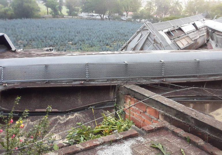 Un muerto y tres heridos al descarrilarse un tren de carga en México