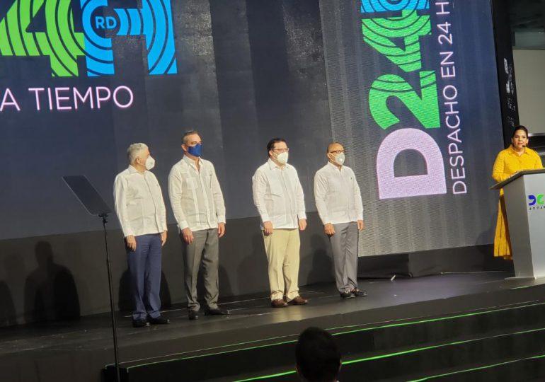 "VIDEO | DGA lanza servicio ""Despacho en 24 Horas"""