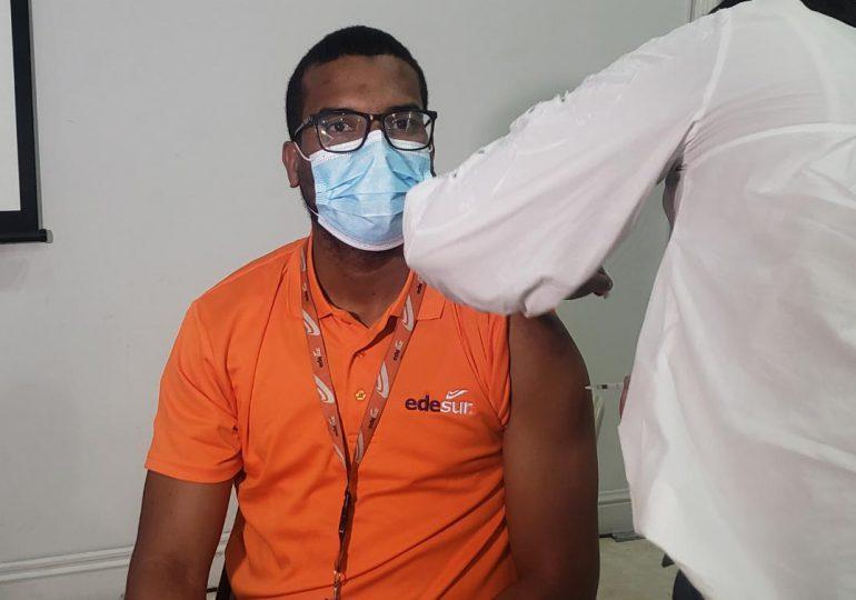 VIDEO | Edesur realiza jornada de vacunación contra el COVID-19 para sus colaboradores y familiares
