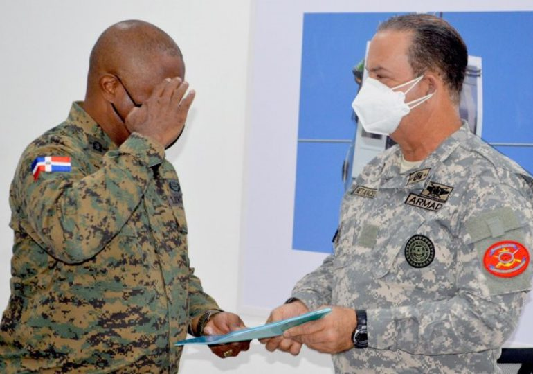 Ramón Betances asume como Comandante del Comando Conjunto Unificado de las Fuerzas Armadas