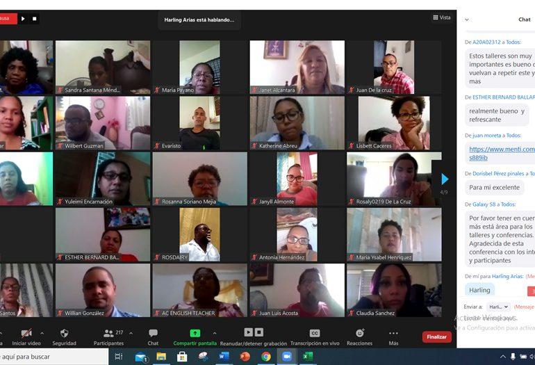 Regional de Educación realiza seminario sobre uso de las TICs en enseñanza de lenguas extranjeras