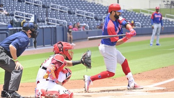 """RD derrota a Venezuela en inicio de la """"Súper Ronda"""" en preolímpico de béisbol"""