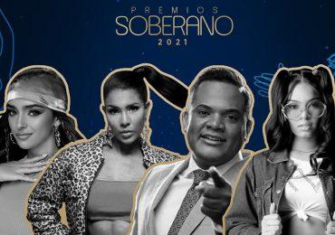 Estos son los artistas que participarán en el Pre-Show de Premios Soberano 2021